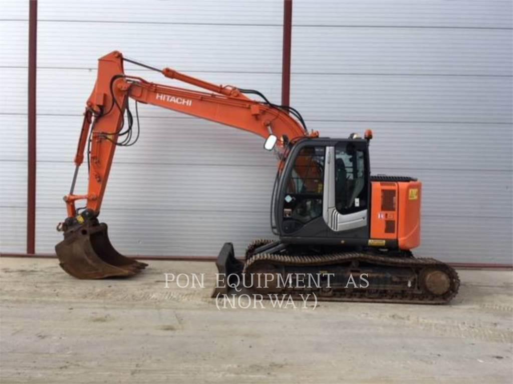 Hitachi ZX135, Crawler Excavators, Construction