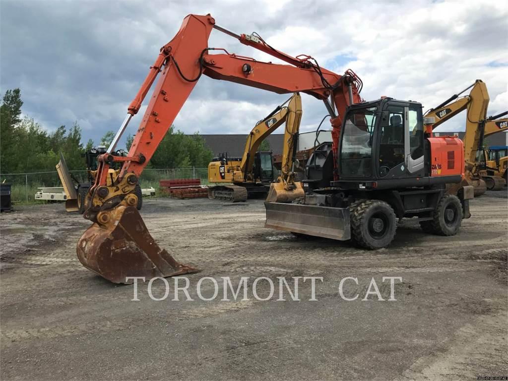 Hitachi ZX170W-3, Crawler Excavators, Construction