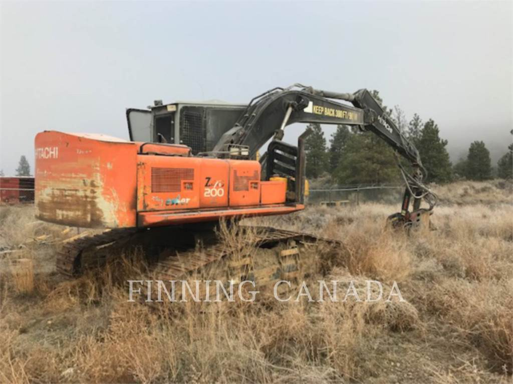 Hitachi ZX200LL, Forestry Excavators, Forestry Equipment