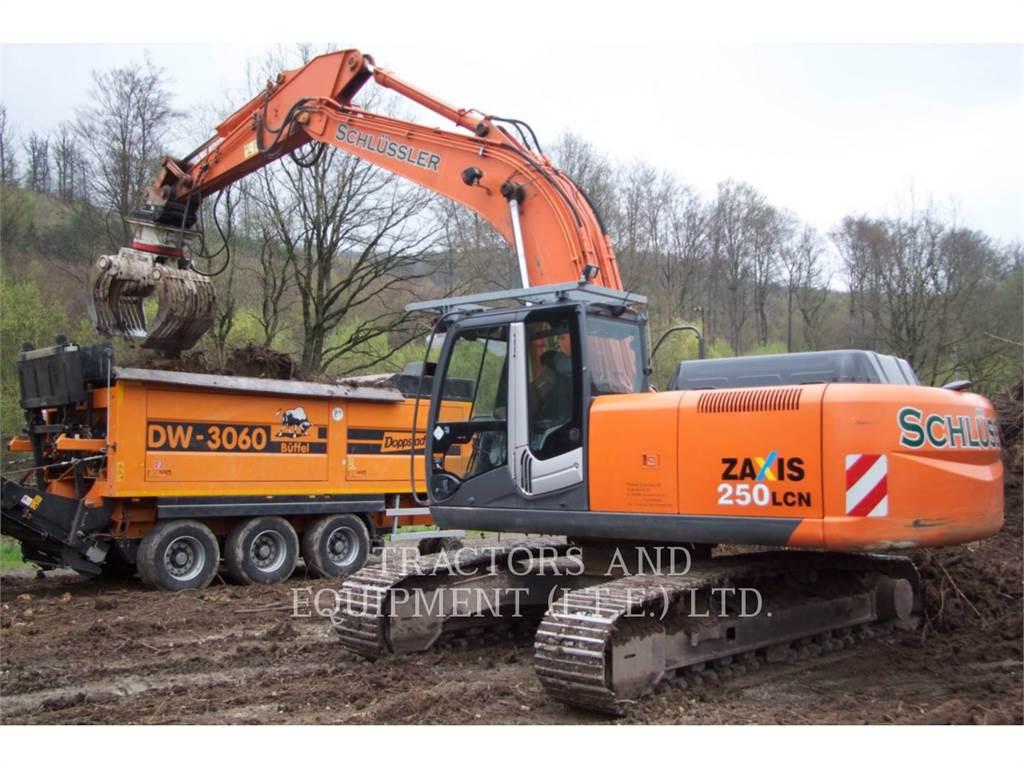 Hitachi ZX205, Crawler Excavators, Construction