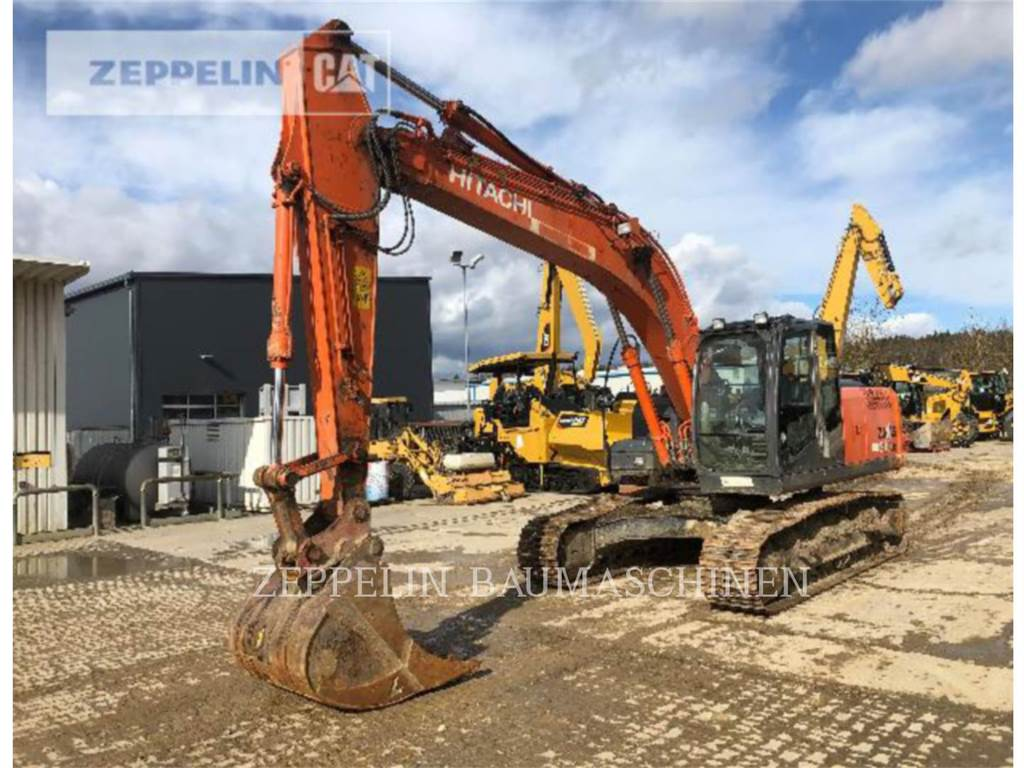 Hitachi ZX210LC, Crawler Excavators, Construction