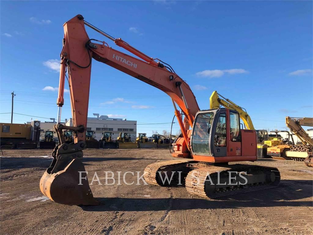 Hitachi ZX225, Crawler Excavators, Construction