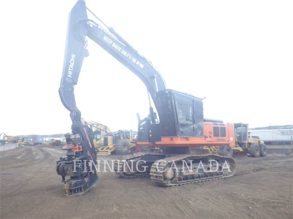Hitachi ZX240F-3, Forestry Excavators, Forestry Equipment