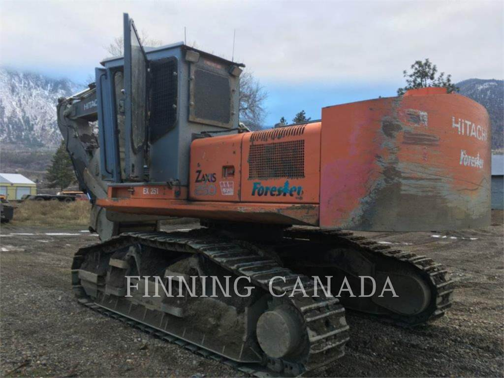 Hitachi ZX250, Chargeuse forestière, Forestier