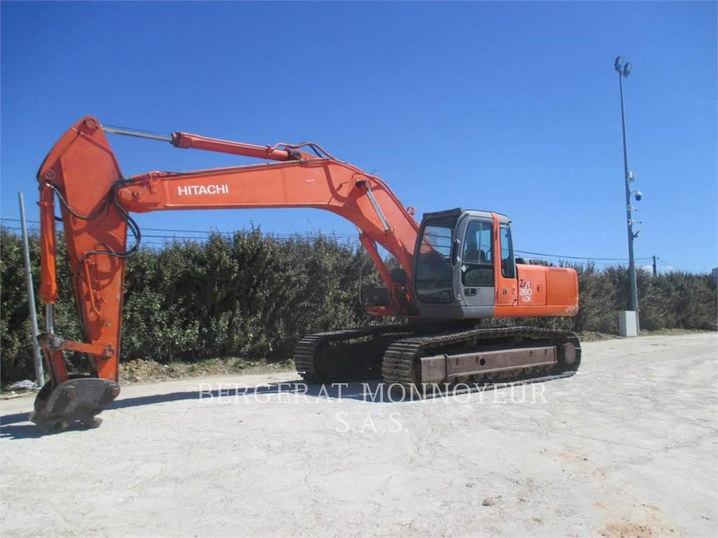 Hitachi ZX280, Crawler Excavators, Construction