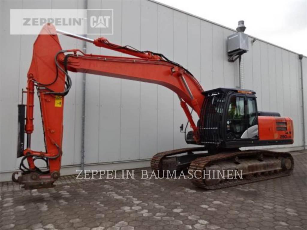 Hitachi ZX290LCN-5, Crawler Excavators, Construction