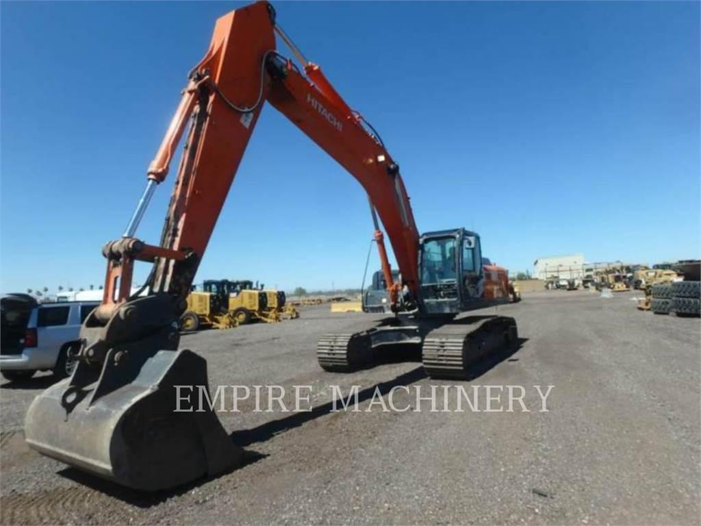 Hitachi ZX350LC, Crawler Excavators, Construction