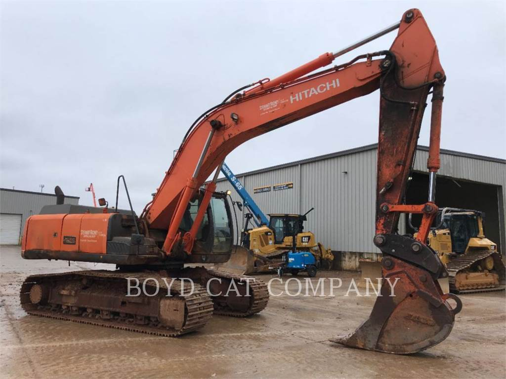 Hitachi ZX350LC5N, Crawler Excavators, Construction