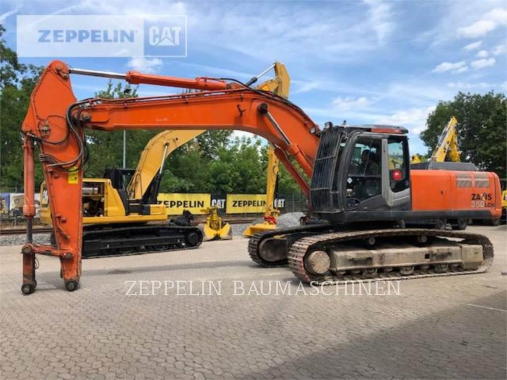Hitachi ZX350LCN-3, Crawler Excavators, Construction