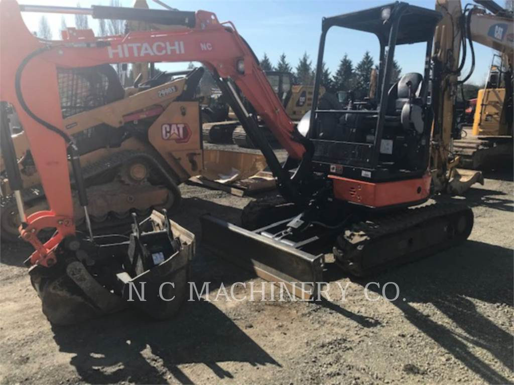 Hitachi ZX35U-5N, Crawler Excavators, Construction
