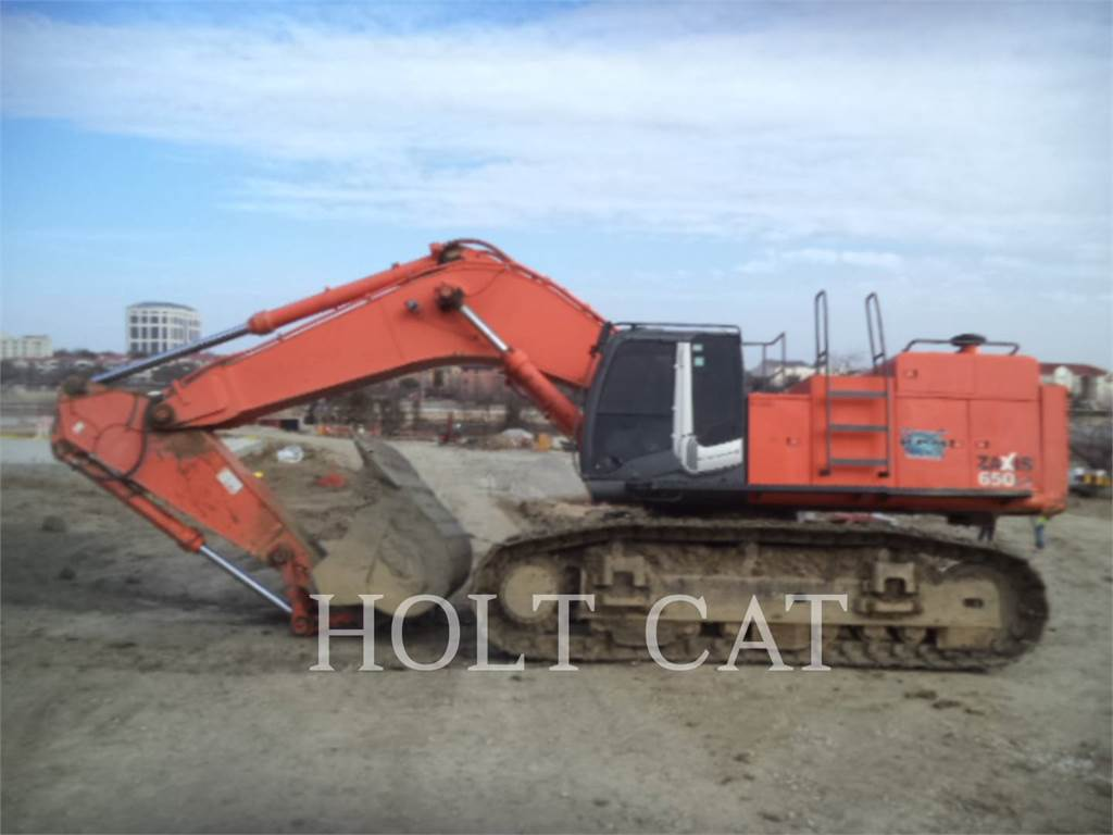 Hitachi ZX650-3, Crawler Excavators, Construction