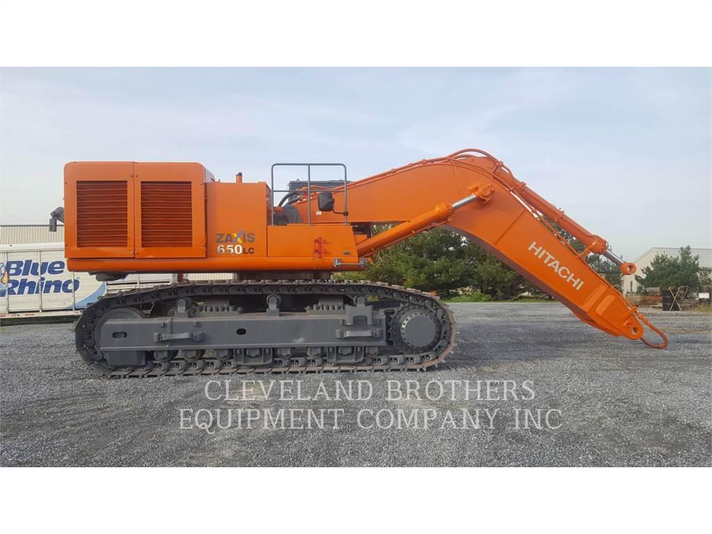 Hitachi ZX650LC-3, Crawler Excavators, Construction