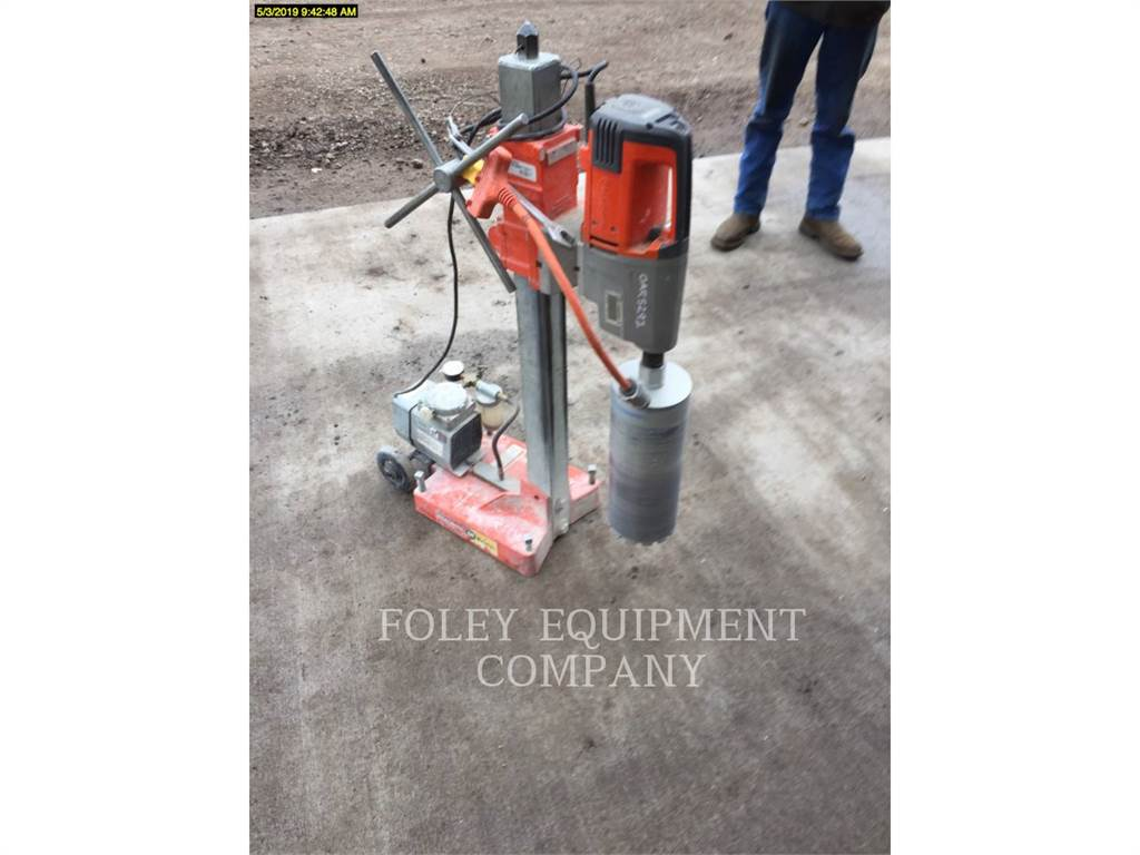 Husqvarna DS800, concrete equipment, Construction