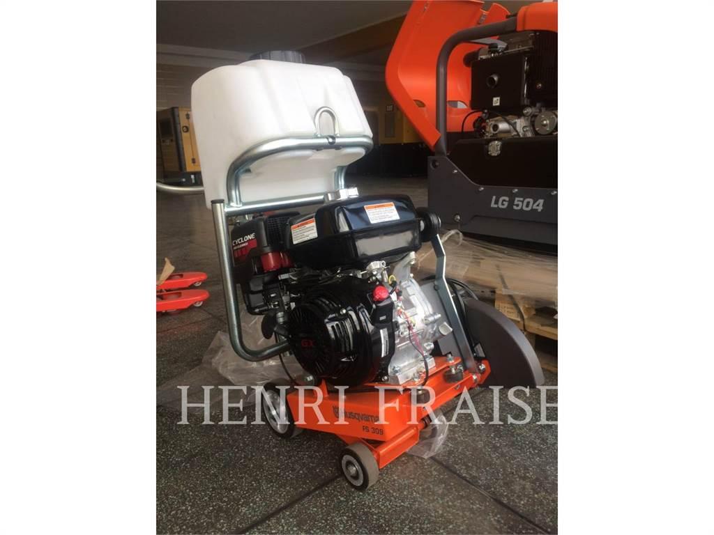 Husqvarna FS 309, wheel saw, Construction