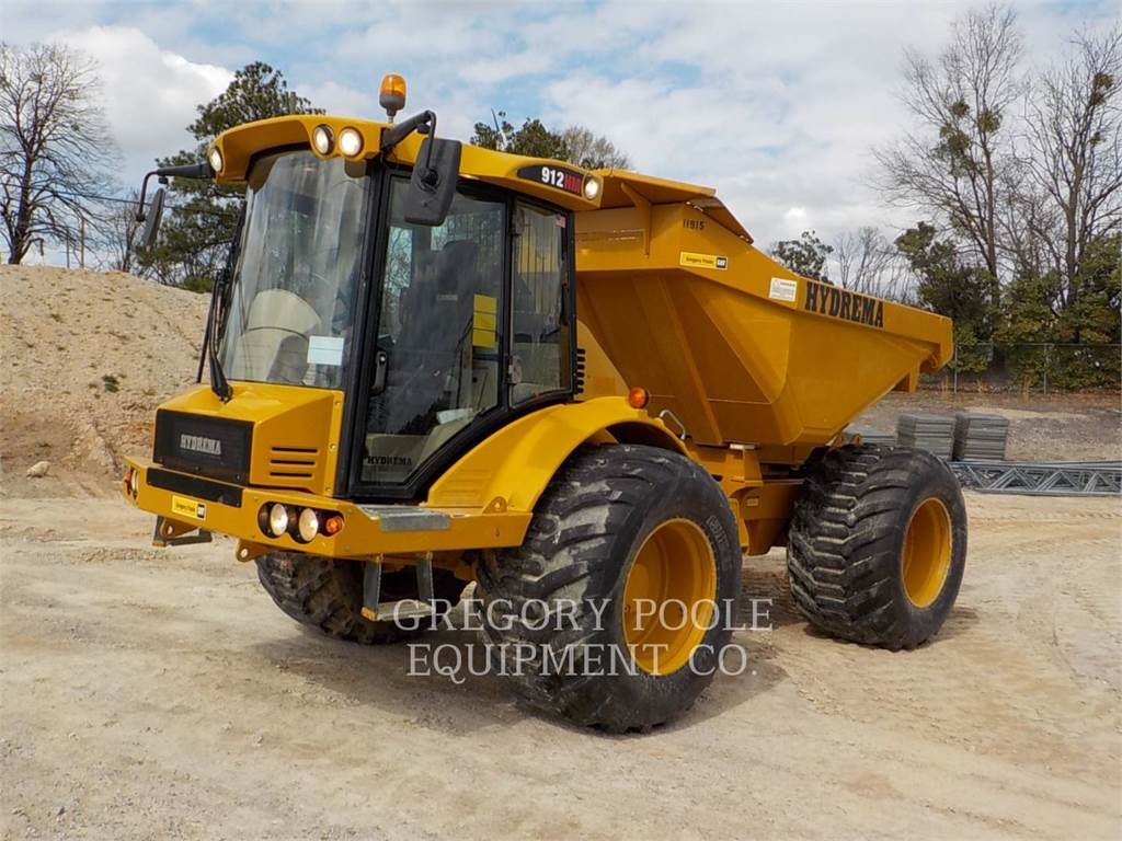 Hydrema 912HM, Articulated Dump Trucks (ADTs), Construction