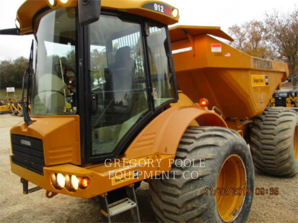 Hydrema 912HM、铰接式自卸车、建筑设备