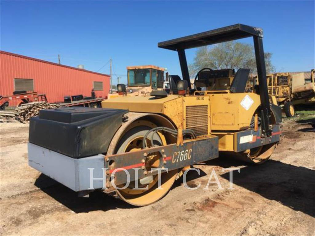 Hypac C766C, Twin drum rollers, Construction