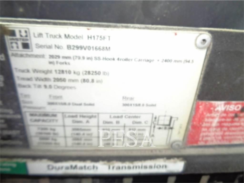 Hyster H175FT, Heftrucks overige, Laden en lossen
