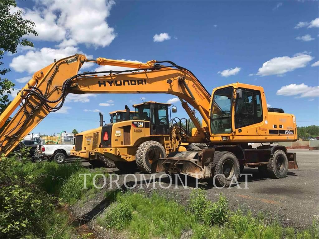 Hyundai 200, Crawler Excavators, Construction