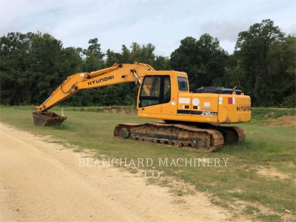 Hyundai 210LC, Escavadoras de rastos, Equipamentos Construção