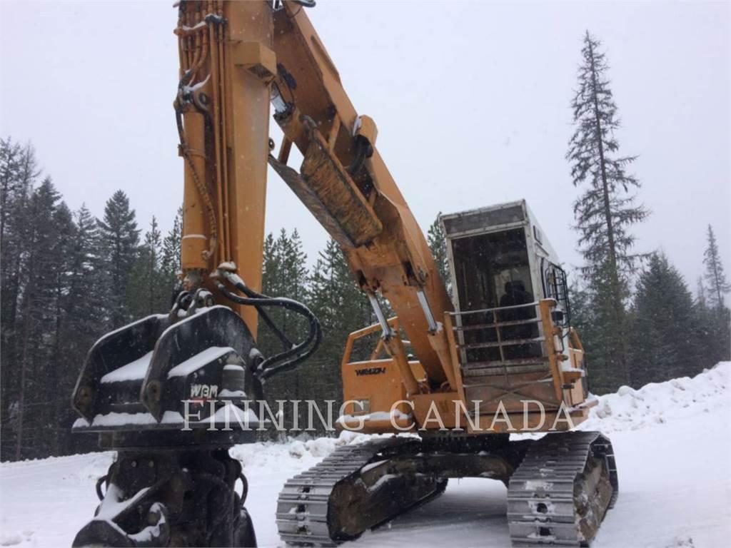 Hyundai 210LC-3, Feller Bunchers, Forestry Equipment