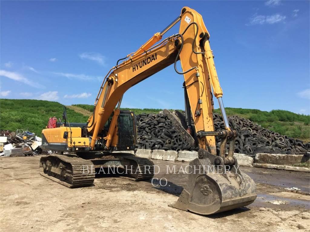 Hyundai 320 LC-9, Escavadoras de rastos, Equipamentos Construção