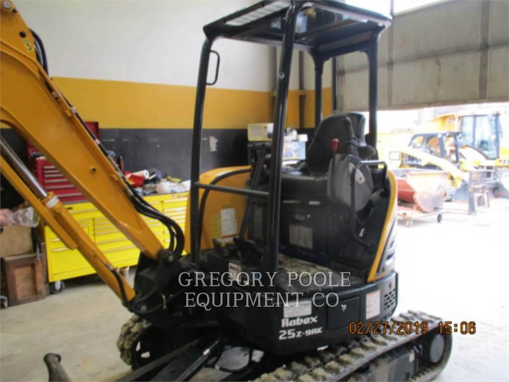 Hyundai EX25Z-9AK, Escavadoras de rastos, Equipamentos Construção
