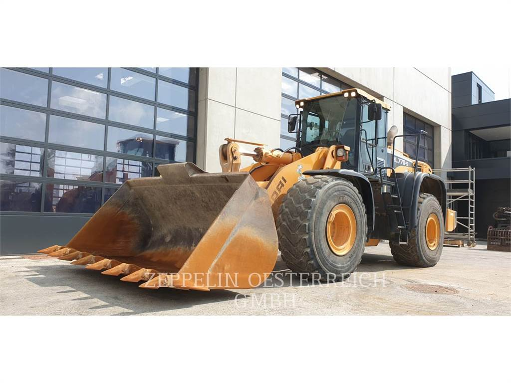 Hyundai HL 770 - 9, Wheel Loaders, Construction