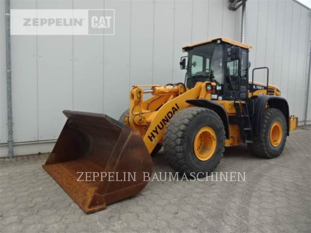Hyundai HL760-9, Wheel Loaders, Construction