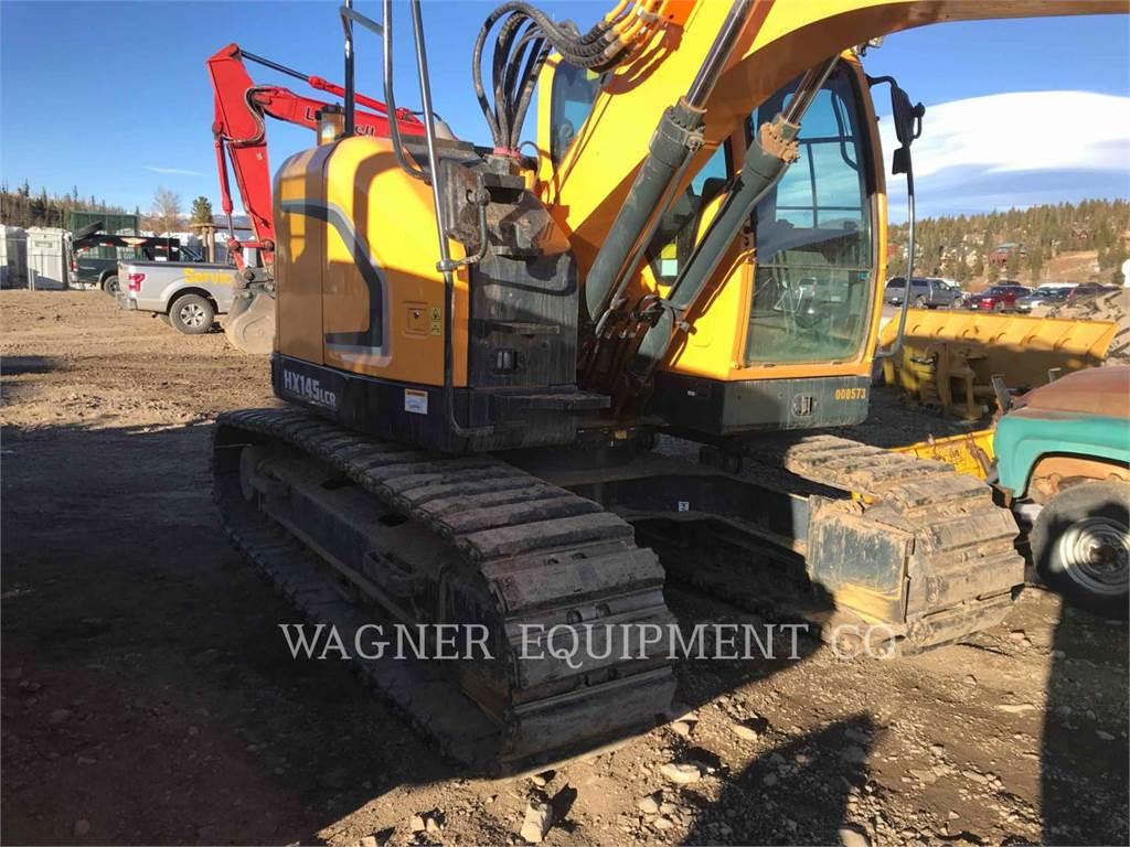 Hyundai HX145 LCR, Crawler Excavators, Construction