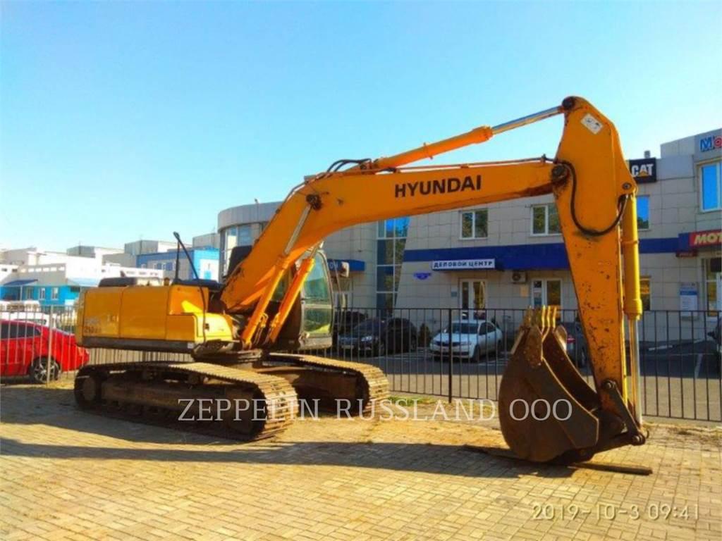 Hyundai R 210 LC-7, Rupsgraafmachines, Bouw
