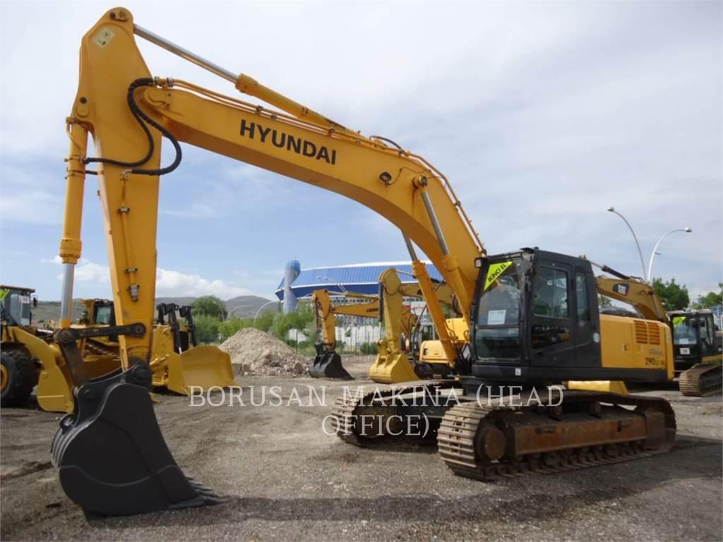 Hyundai R290LC-7, Crawler Excavators, Construction