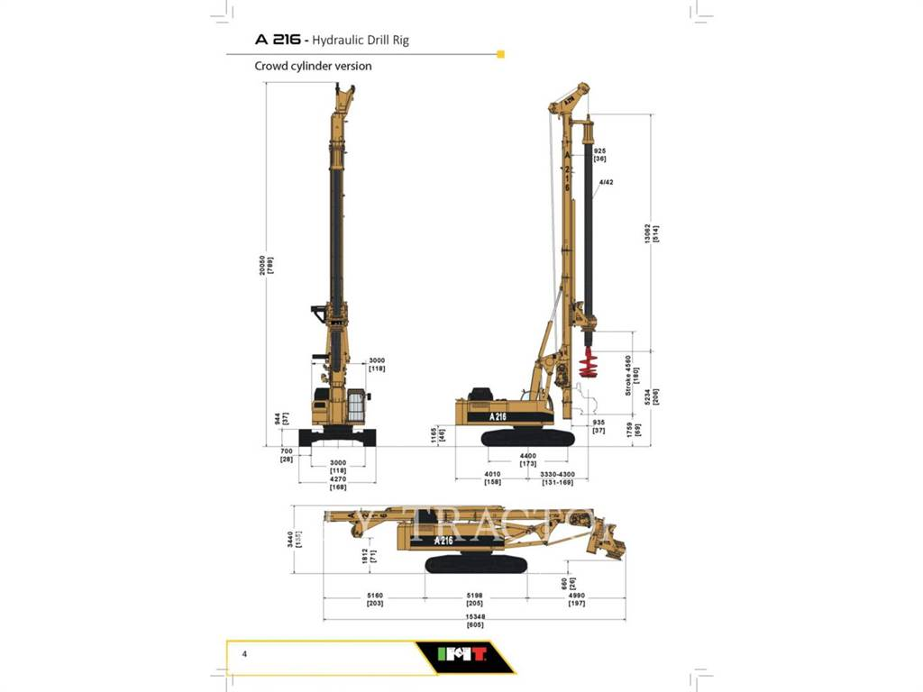 IMT A216, Surface drill rigs, Construction