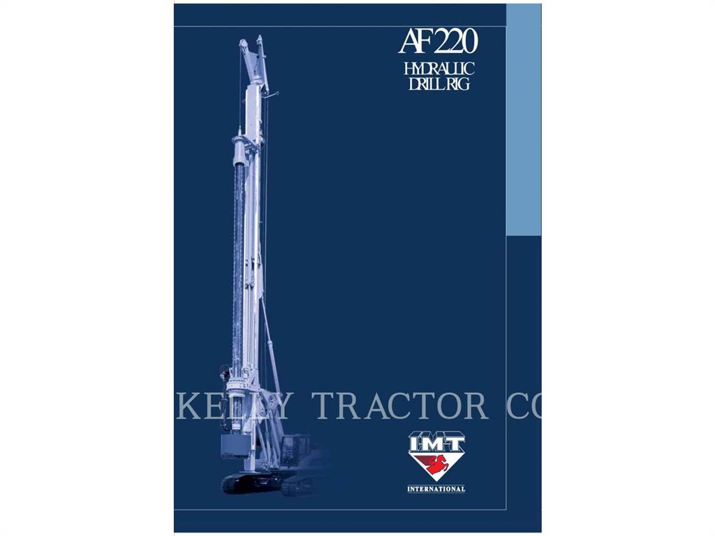 IMT AF220, Ciężkie wiertnice, Sprzęt budowlany