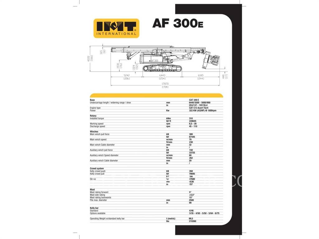 IMT AF300E, Schwere Bohrer, Bau-Und Bergbauausrüstung