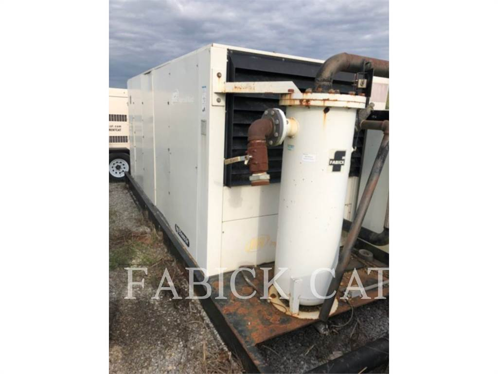 Ingersoll Rand 1500E, Compressed Air, Construction