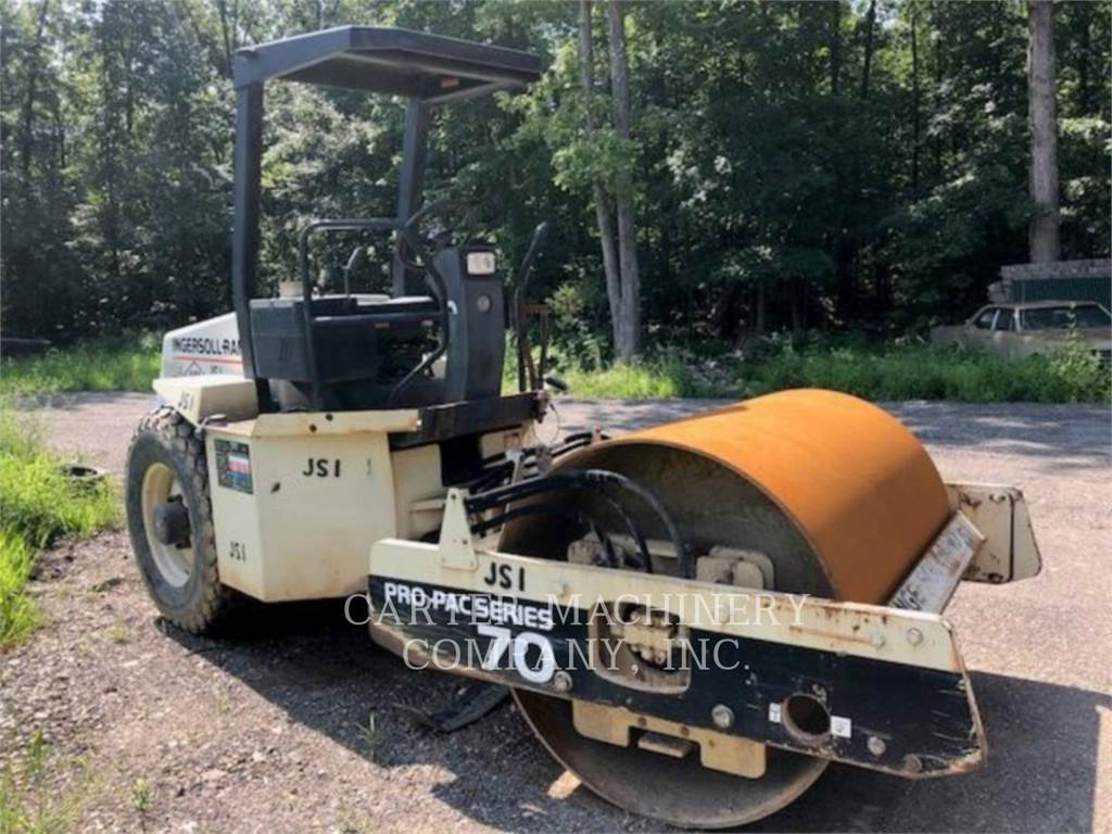 Ingersoll Rand IR SD70D, Waste Compactors, Construction