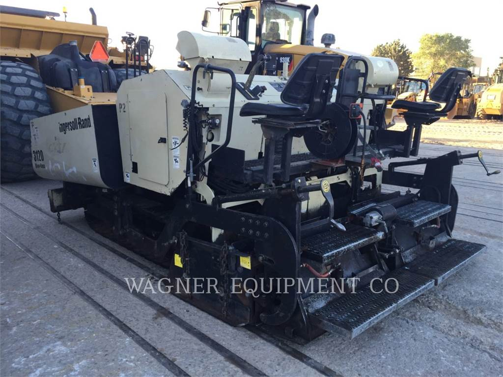 Ingersoll Rand PF3120, Asphalt pavers, Construction