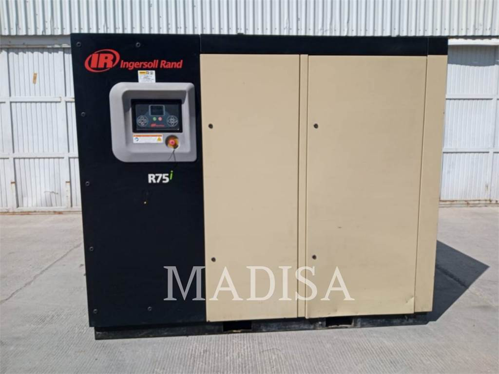 Ingersoll Rand R75I, Compressed Air, Construction