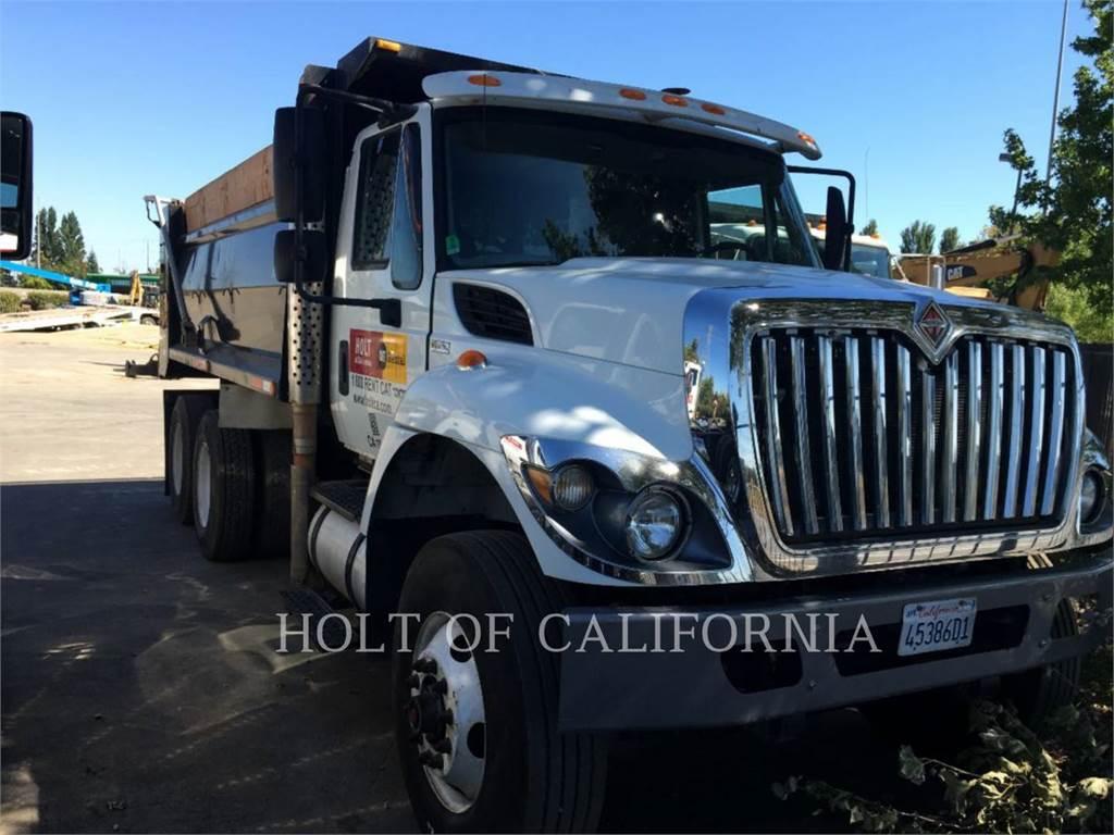 International DUMP TRK14, caminhões basculantes, Transporte