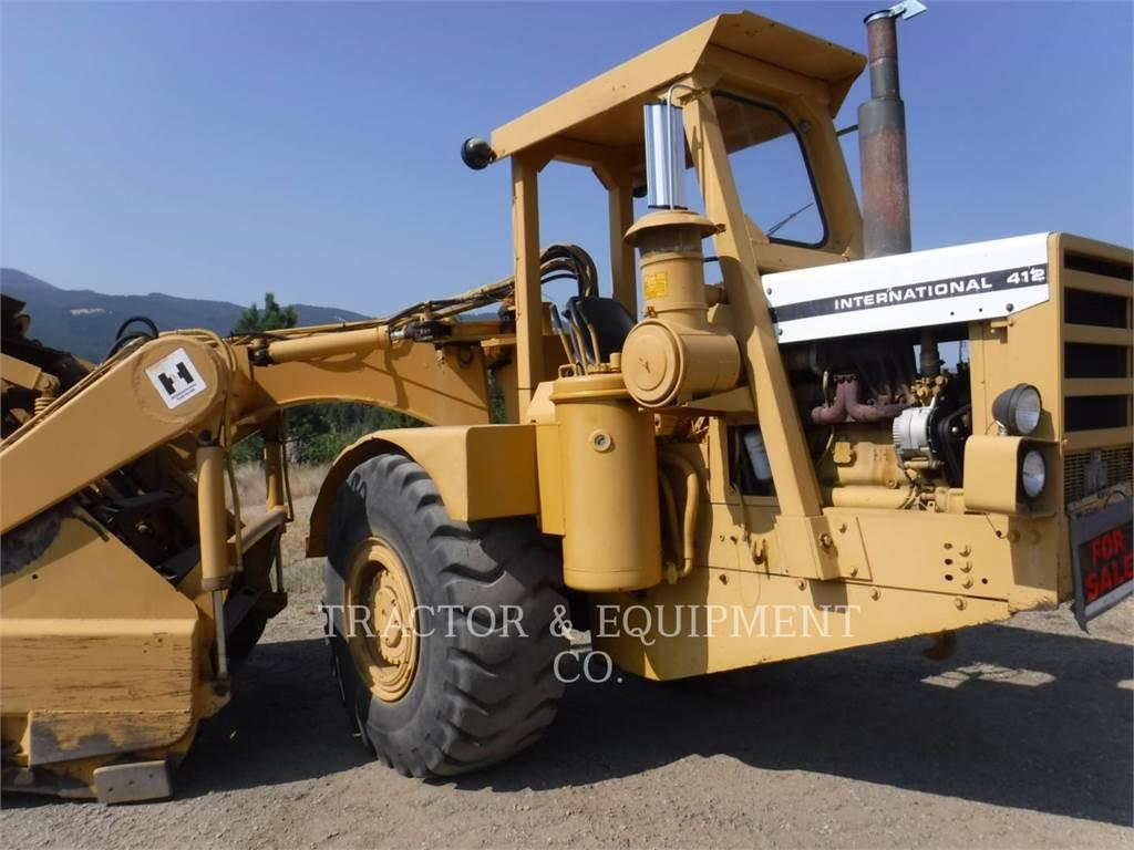 International HARVESTER 412, Scraper, Équipement De Construction