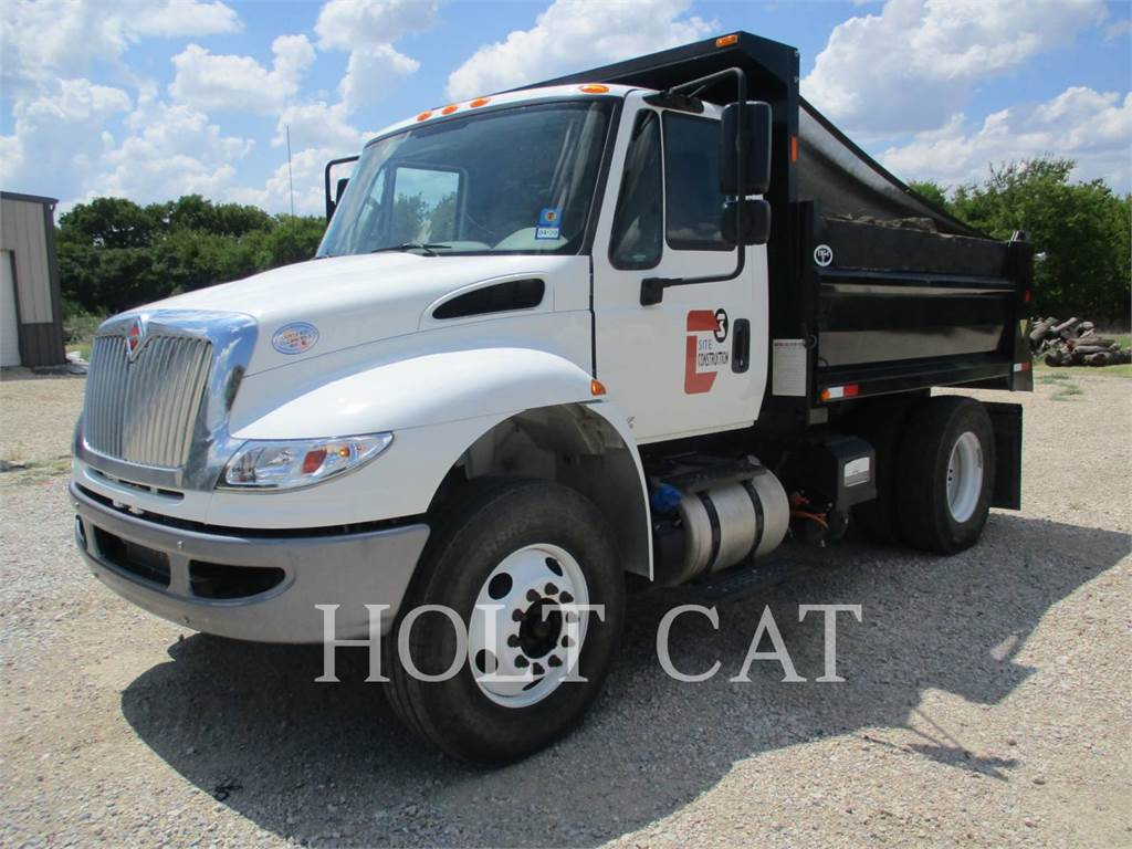 International TRUCKS 4300 SBA 4X2, on highway trucks, Transport