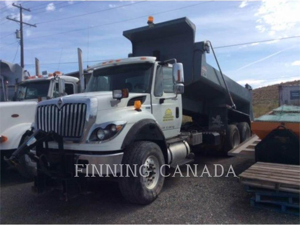 International TRUCKS 7500 PLOW TRUCK, ciężarówki drogowe, Transport