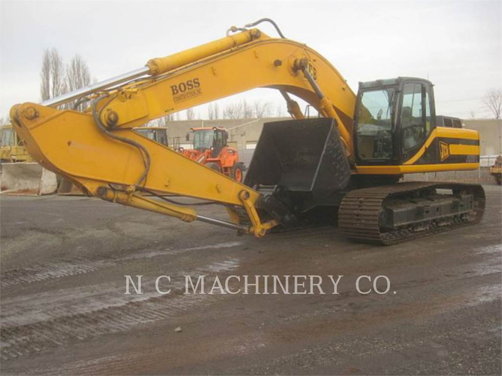 JCB 330L, Excavadoras de cadenas, Construcción