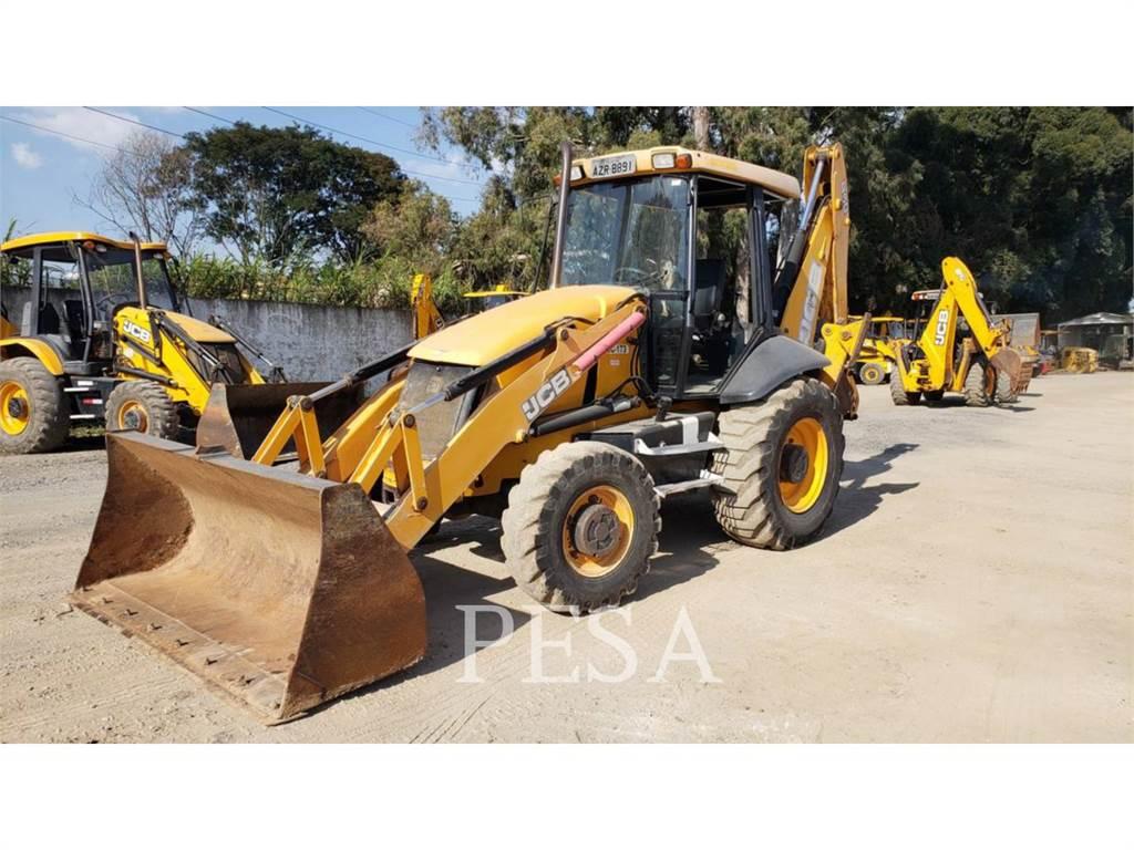 JCB 3C, backhoe loader, Construction