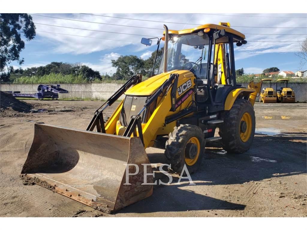 JCB 3CX, backhoe loader, Construction