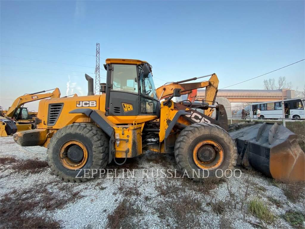 JCB 456ZX, Wheel Loaders, Construction