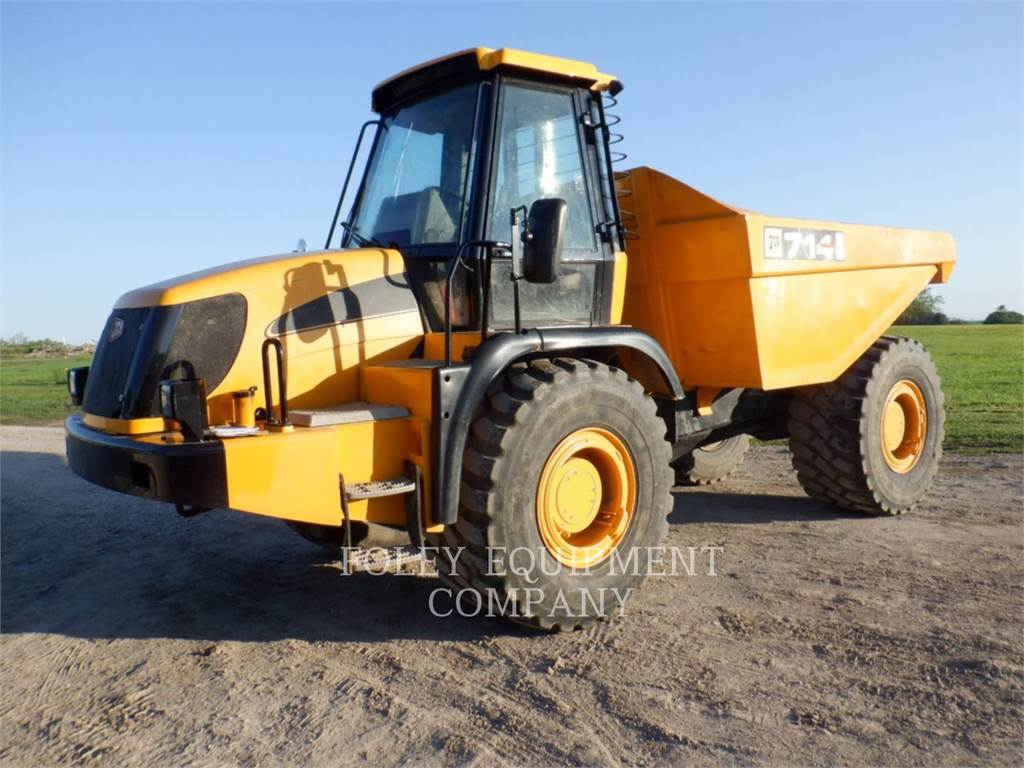 JCB 714, Knik dumptrucks, Bouw