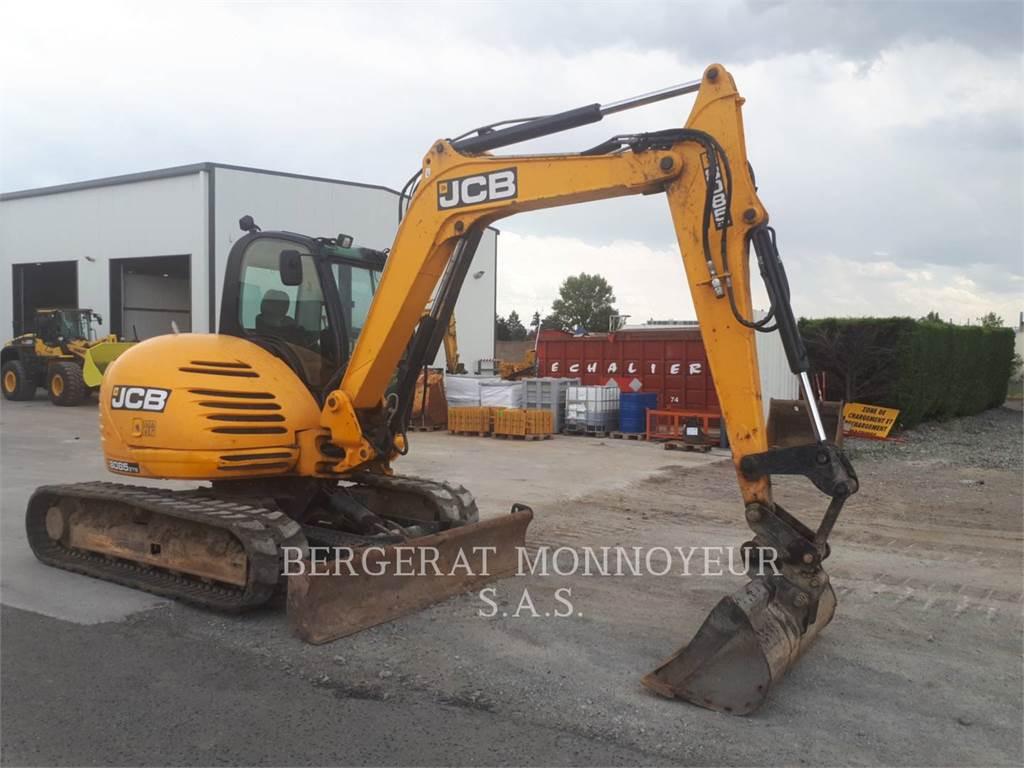 JCB 8085, Raupenbagger, Bau-Und Bergbauausrüstung