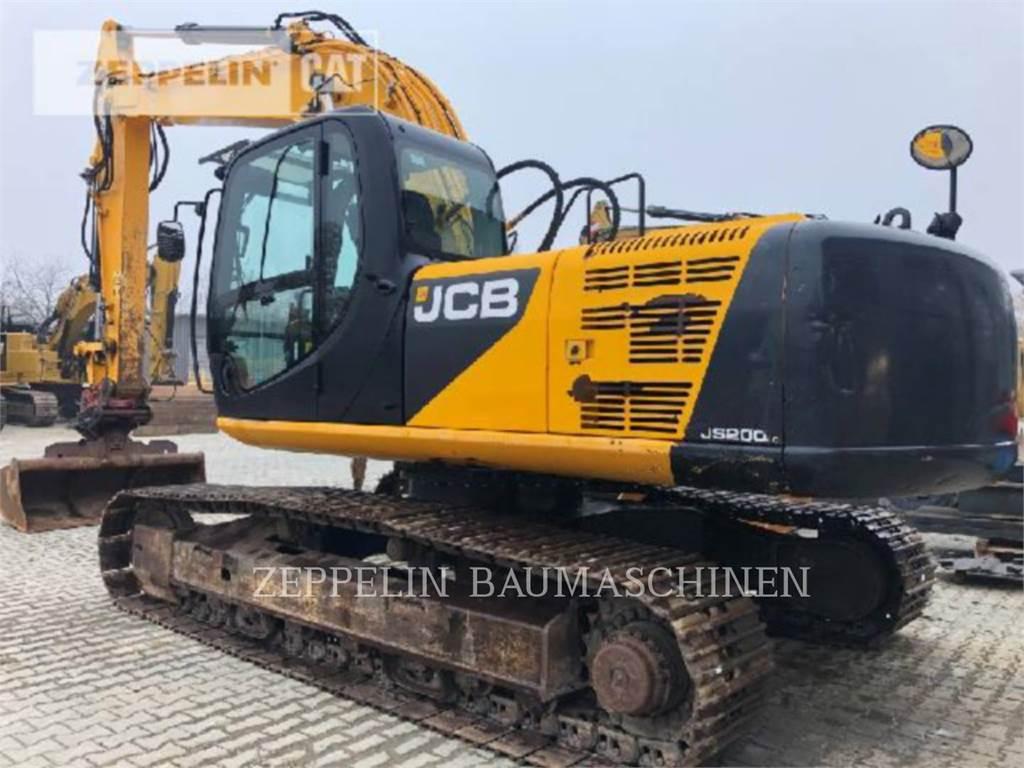JCB JS200L, Crawler Excavators, Construction